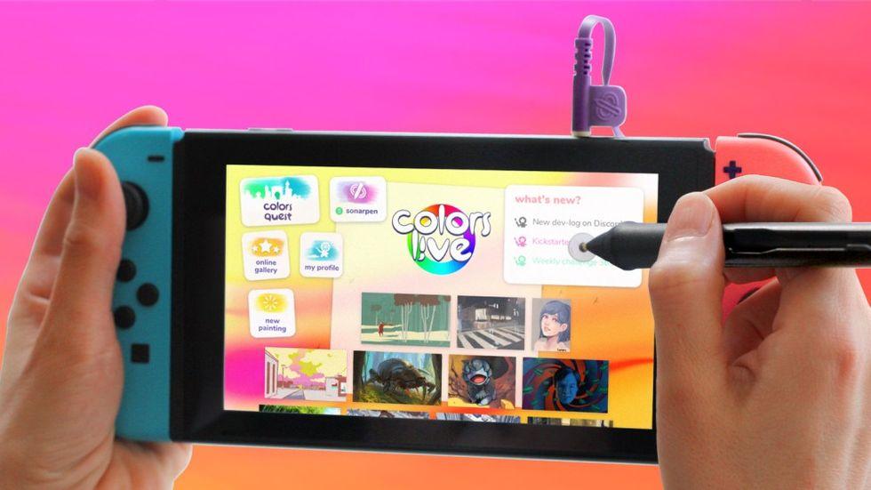 Svenskutvecklade Colors Live på gång till Nintendo Switch