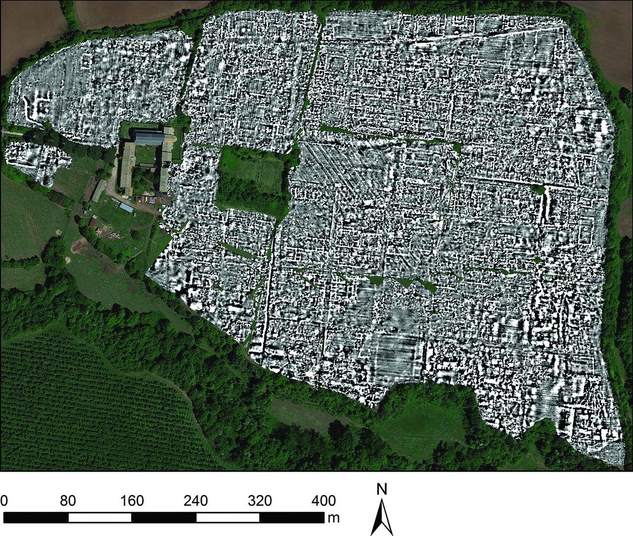 Forntida romersk stad kartlagd med hjälp av radar