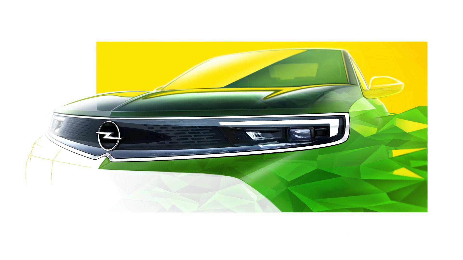 Det här är ansiktet på nya Opel Mokka