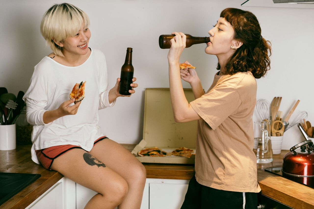 Pandemin har inte lett till ökad alkoholkonsumtion