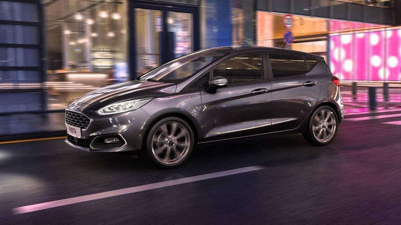 Ford uppdaterar Fiesta