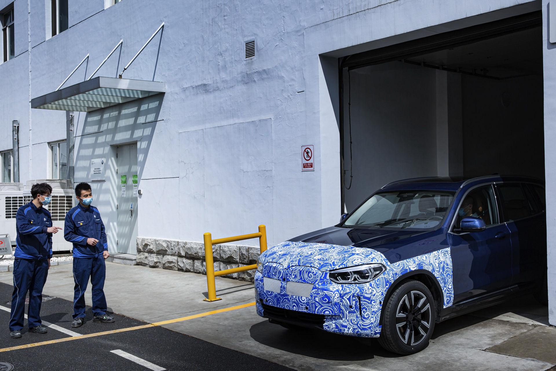 Sluttesterna av eldrivna BMW iX3 är klara