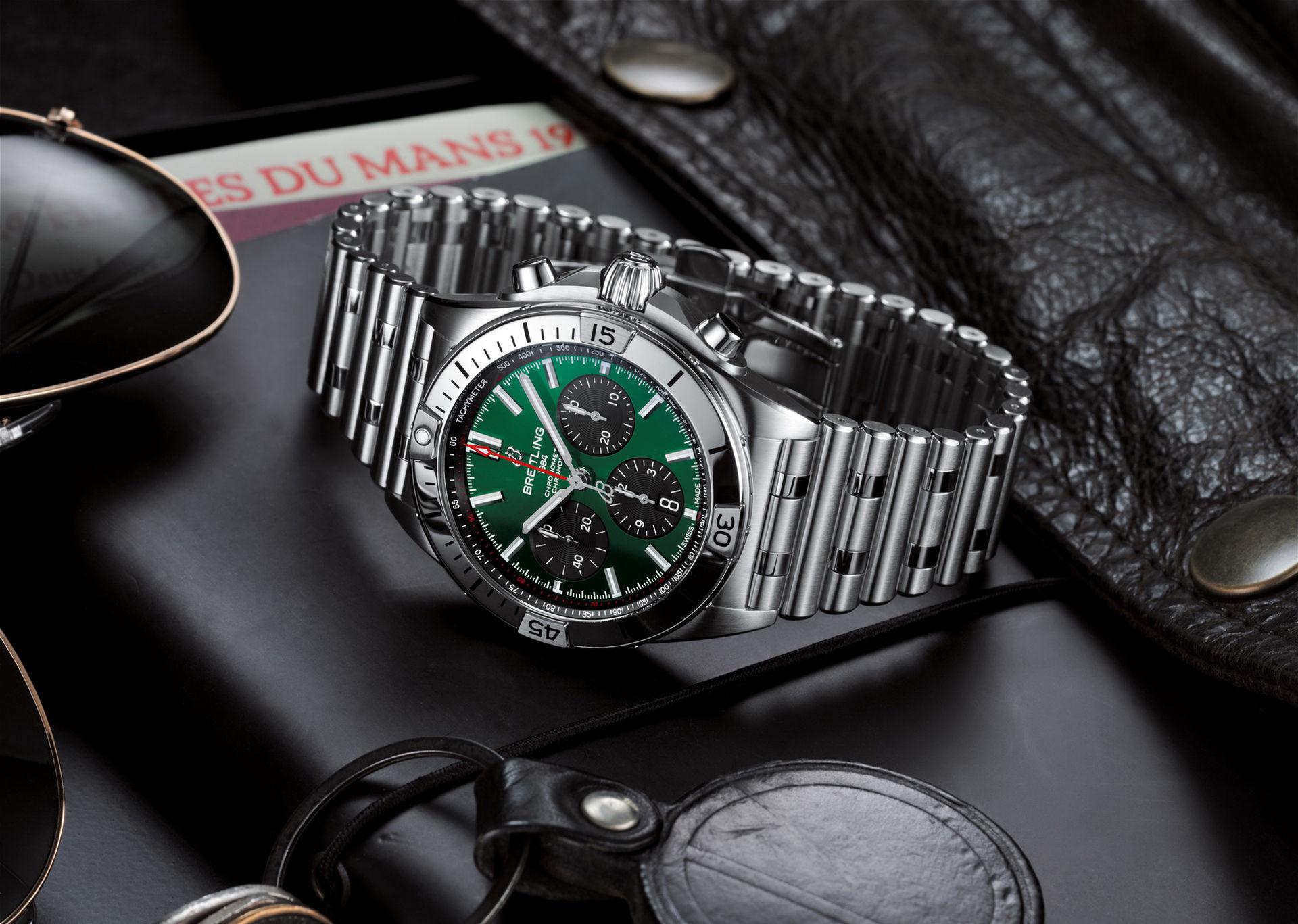 Ny klocka från Bentley och Breitling