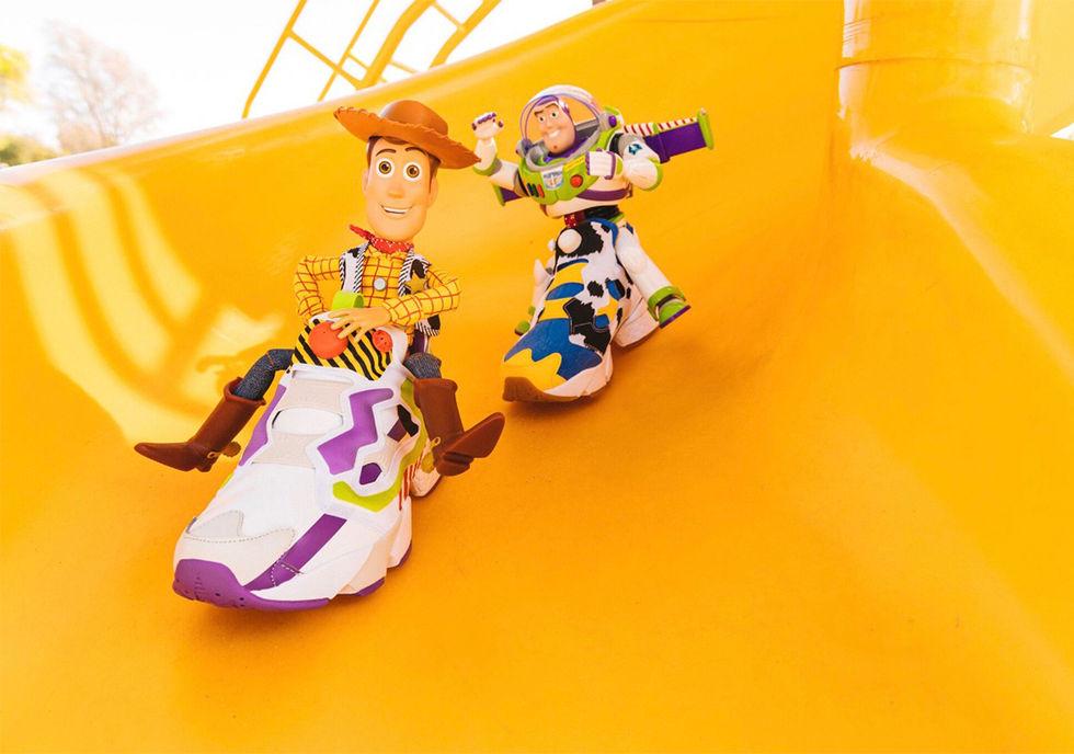Toy Story-skor från BAIT och Reebok
