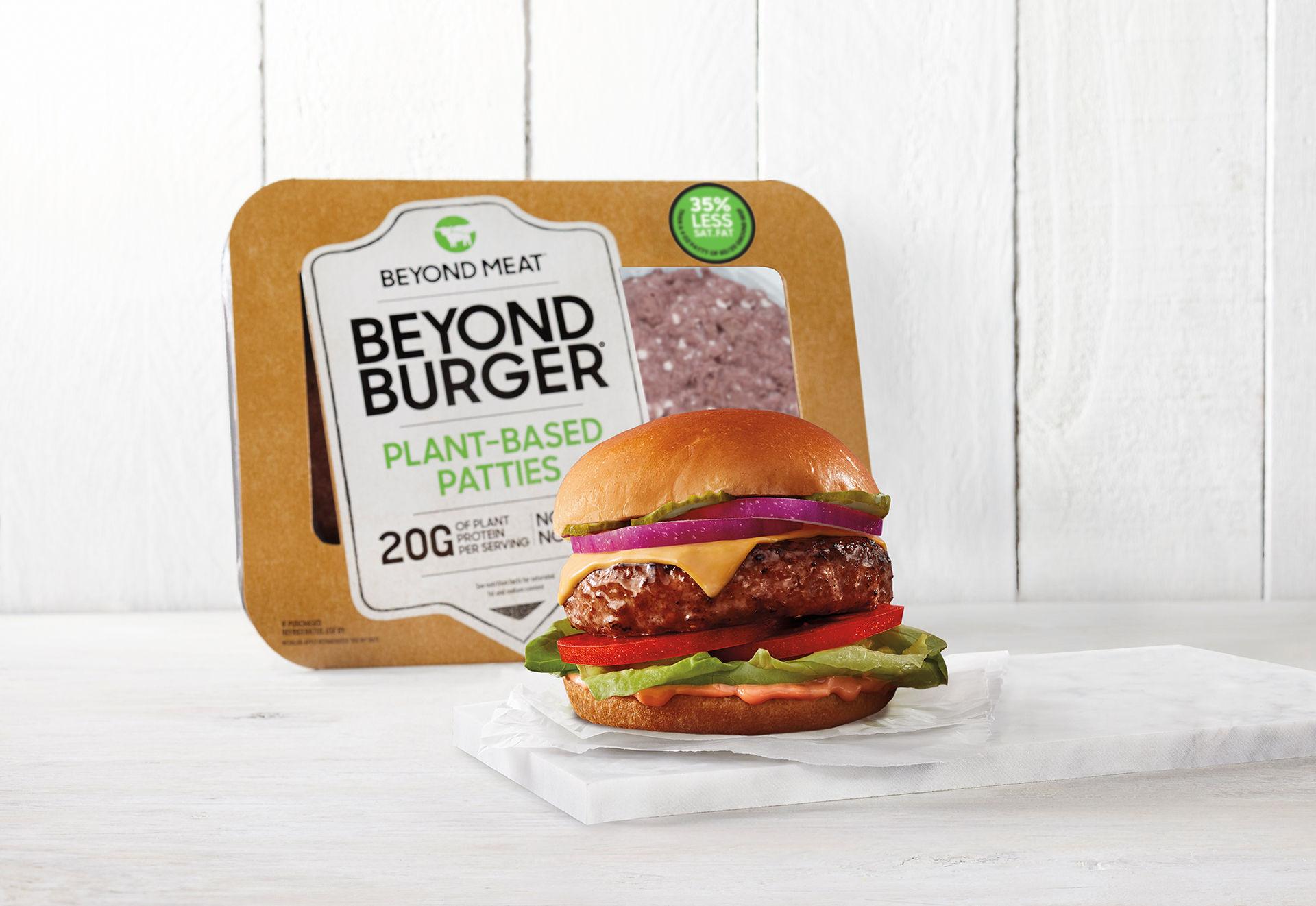 Nya fabriker för Beyond Meat i Europa