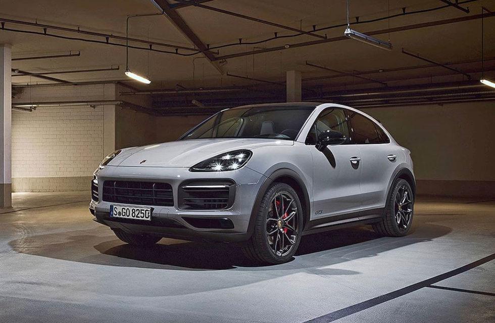 Porsche Cayenne Coupé GTS läcker ut