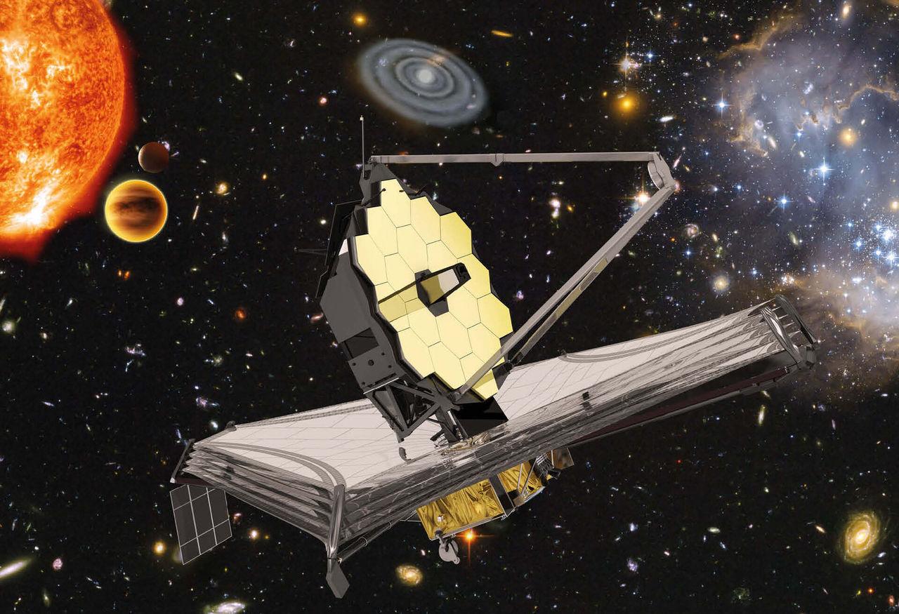 James Webb-teleskopet avfärd från jorden flyttas fram