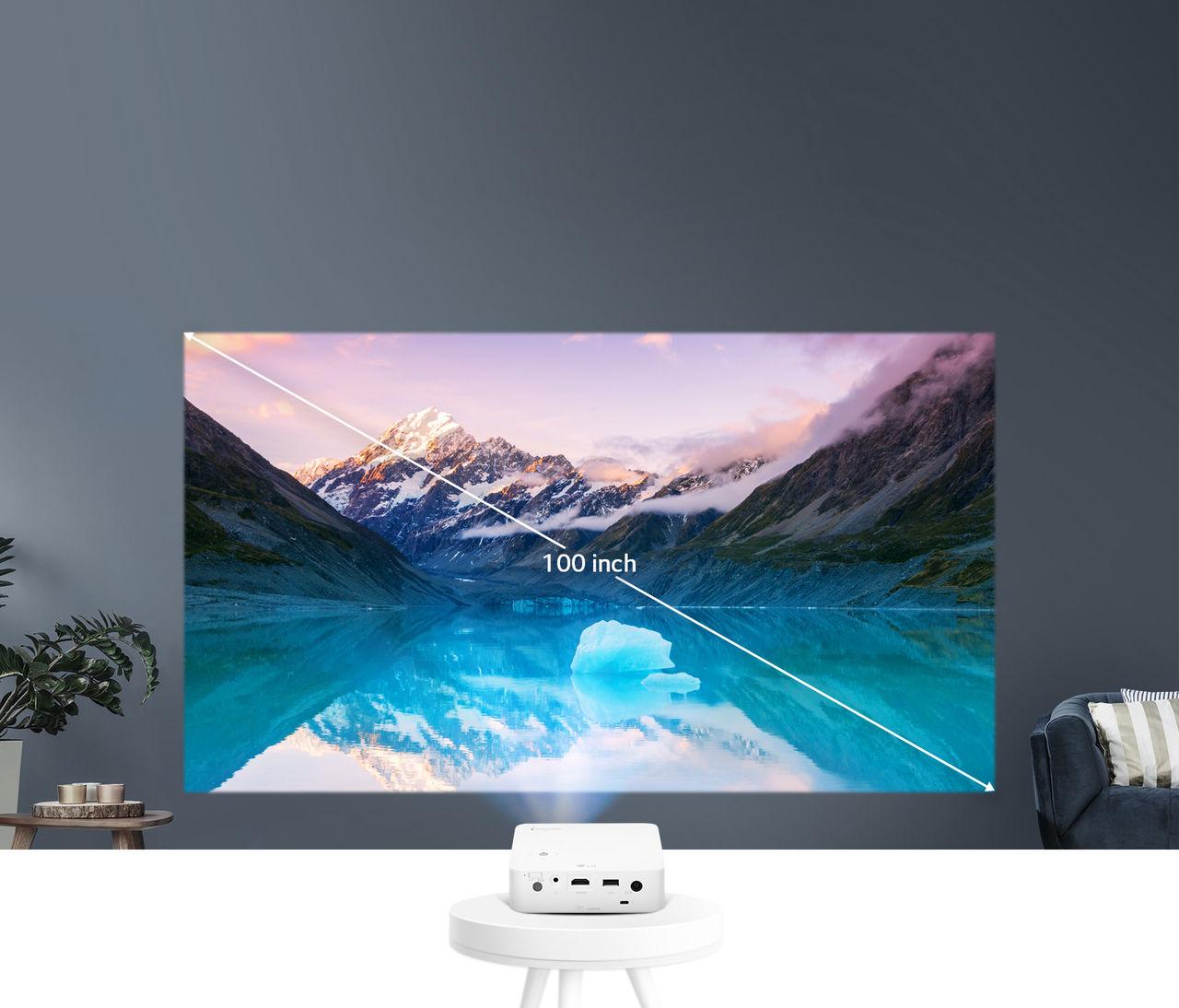 LG presenterar miniprojektorn CineBeam PH30N