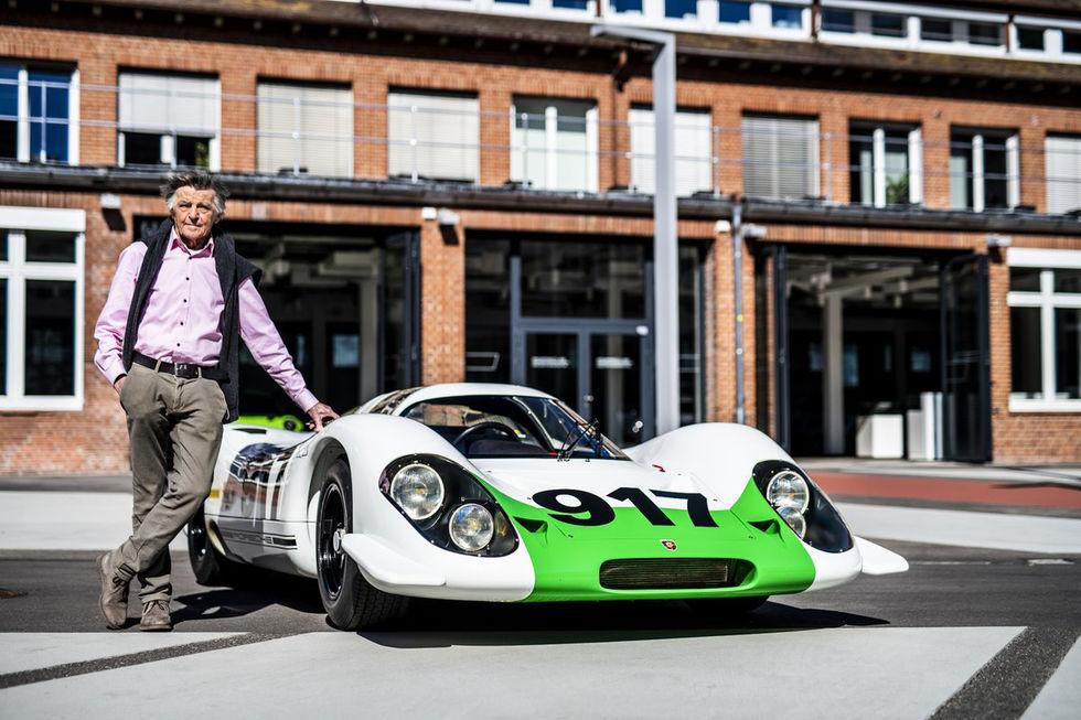 Legendariska Porsche-ingenjören Hans Mezger har gått bort