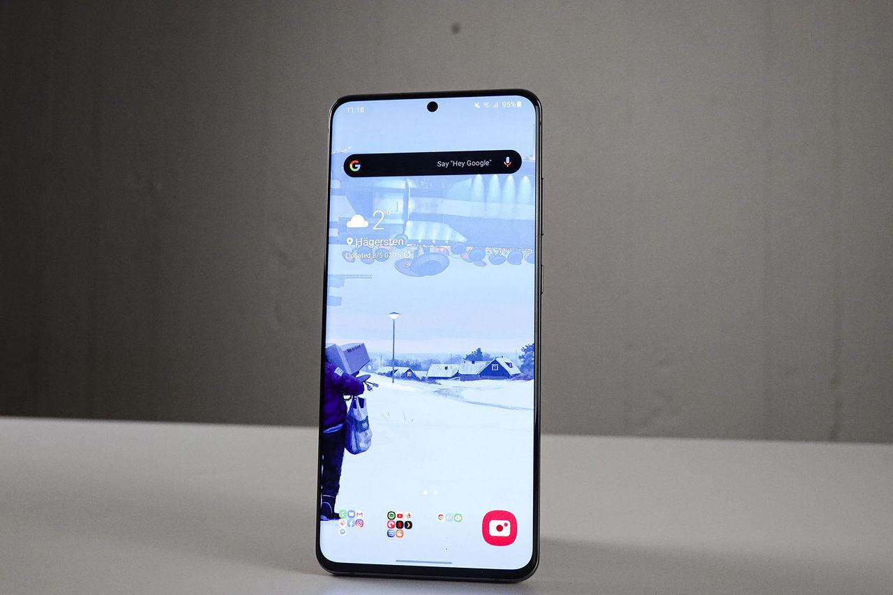 Samsung aktiverar 5G på S20-enheterna