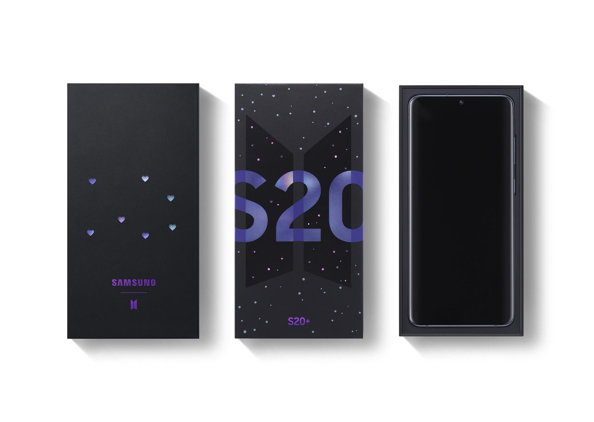 Samsung visar upp Galaxy S20+ BTS Edition