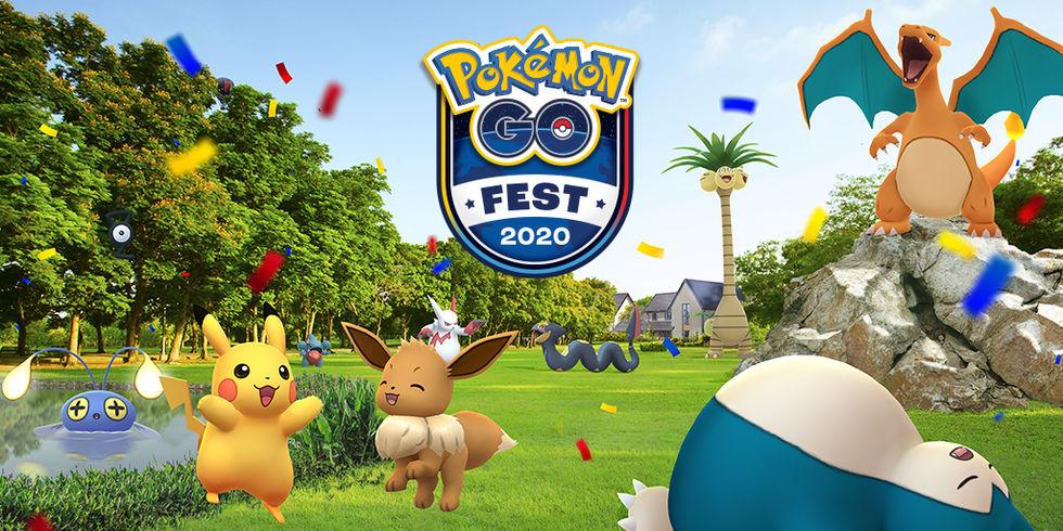 Biljetterna till Pokémon Go Fest 2020 släppta
