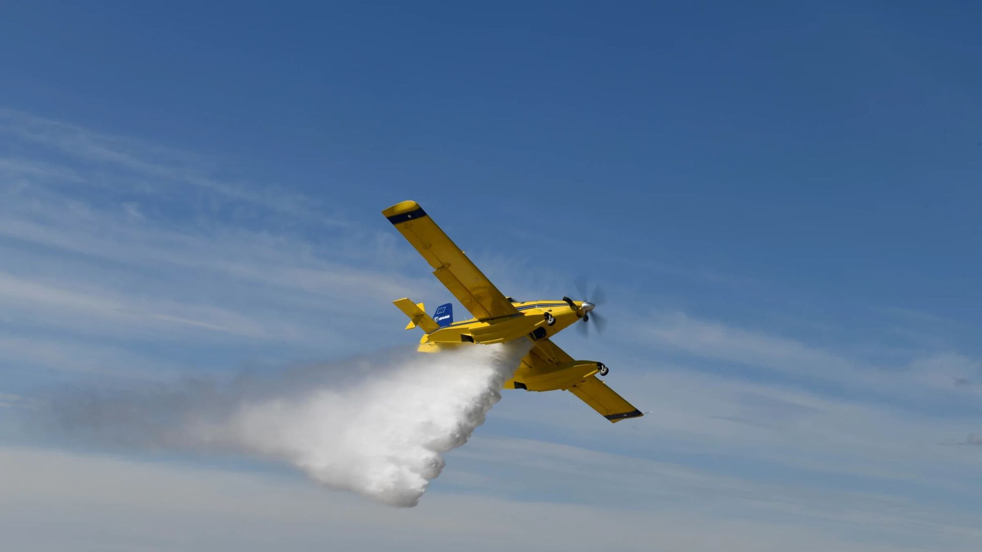 MSB har testat sitt nya flygplan
