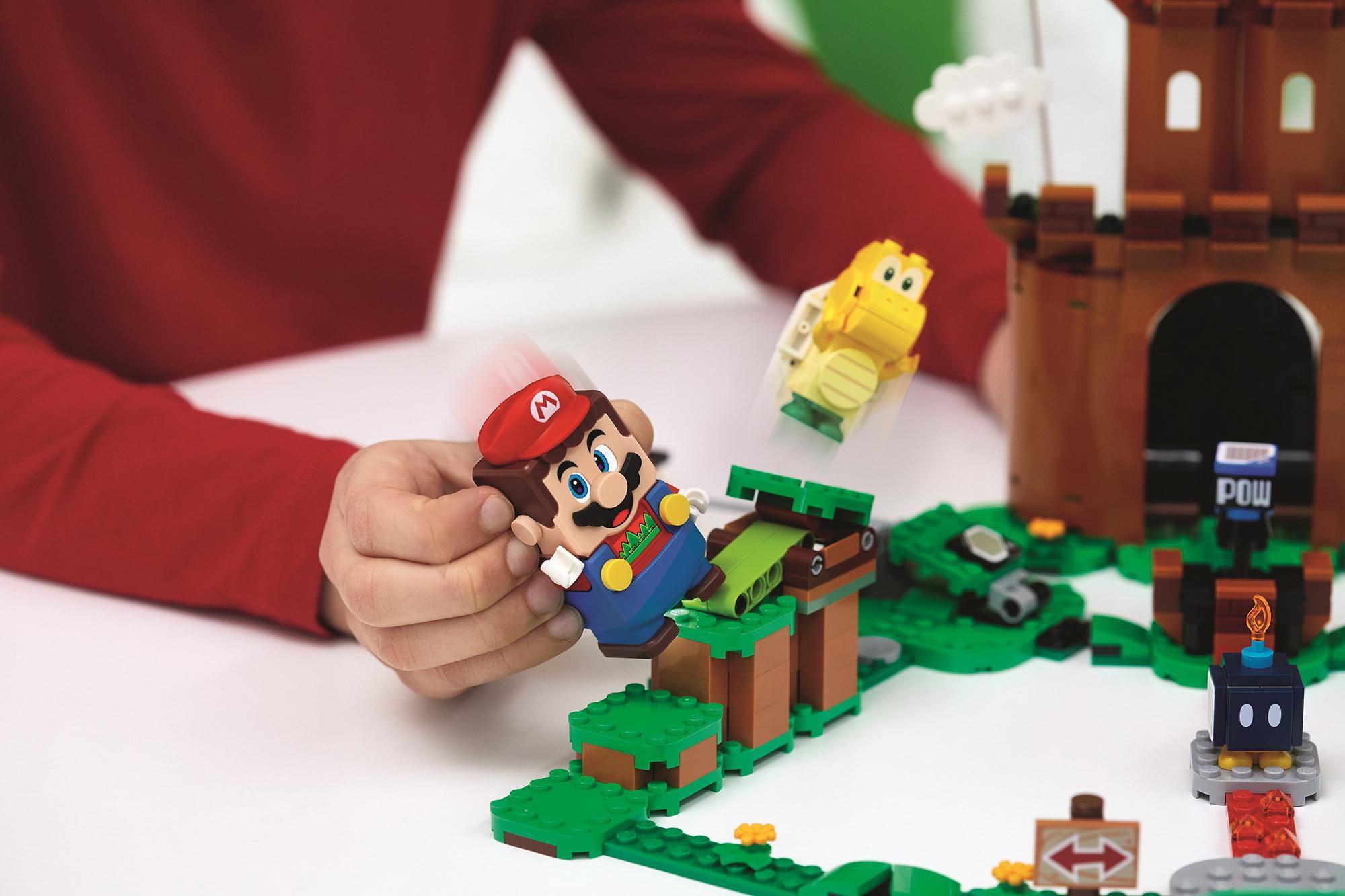 Lego visar upp fler Super Mario-byggen Bygg, lek och samla mynt