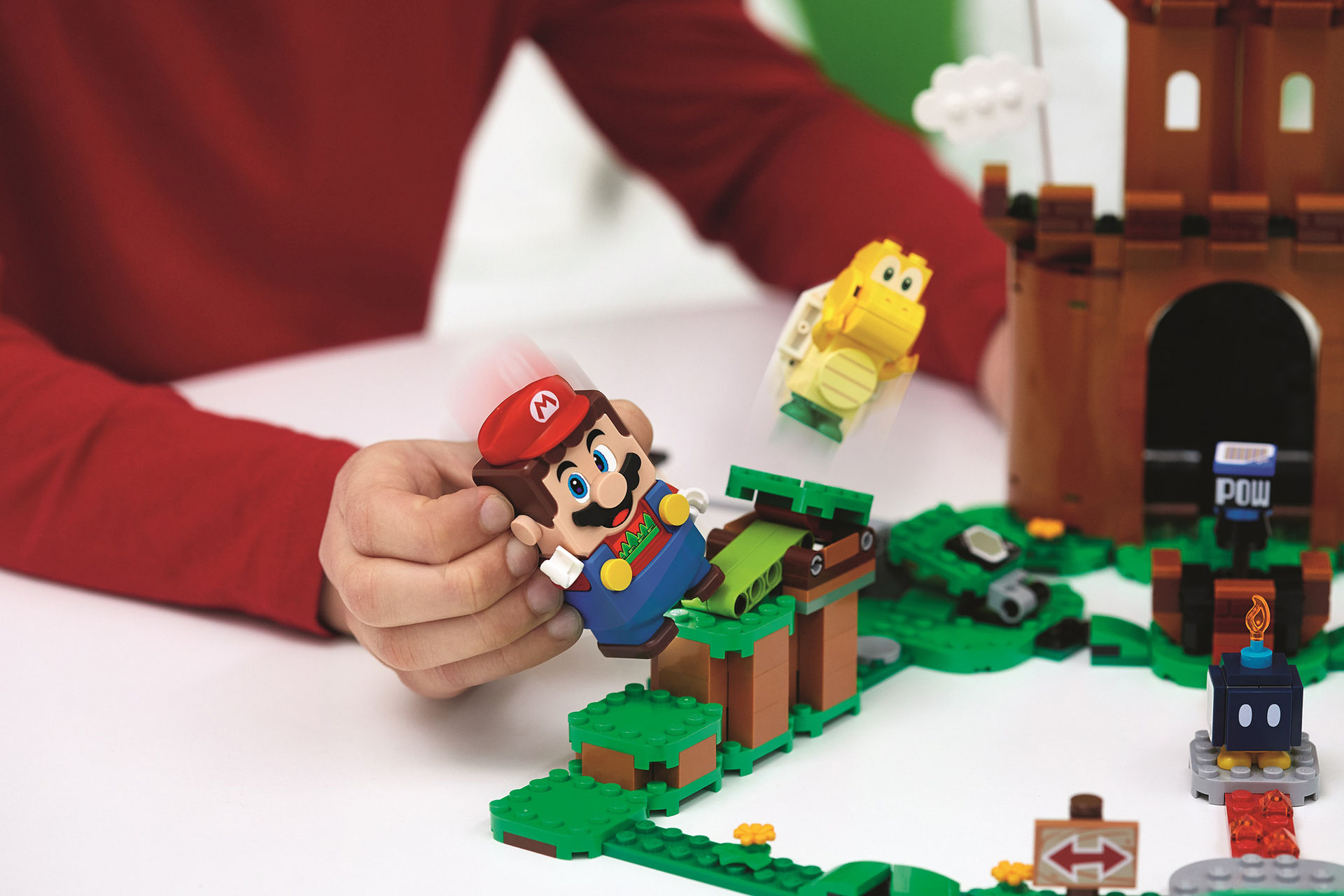 Lego visar upp fler Super Mario-byggen
