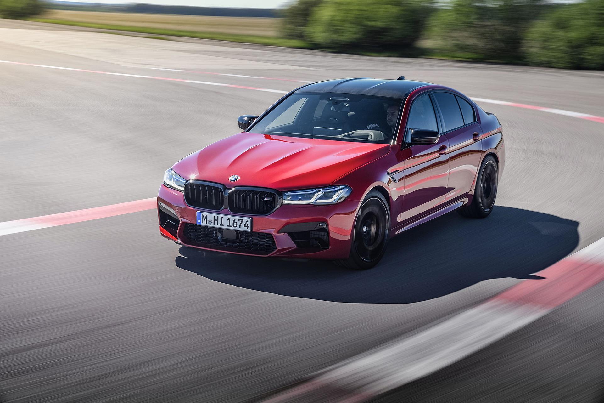 Det här är uppdaterade BMW M5 och M5 Competition