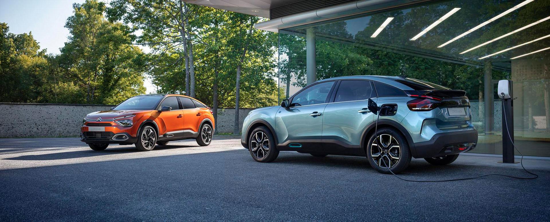 Citroën visar några bilder på nya C4