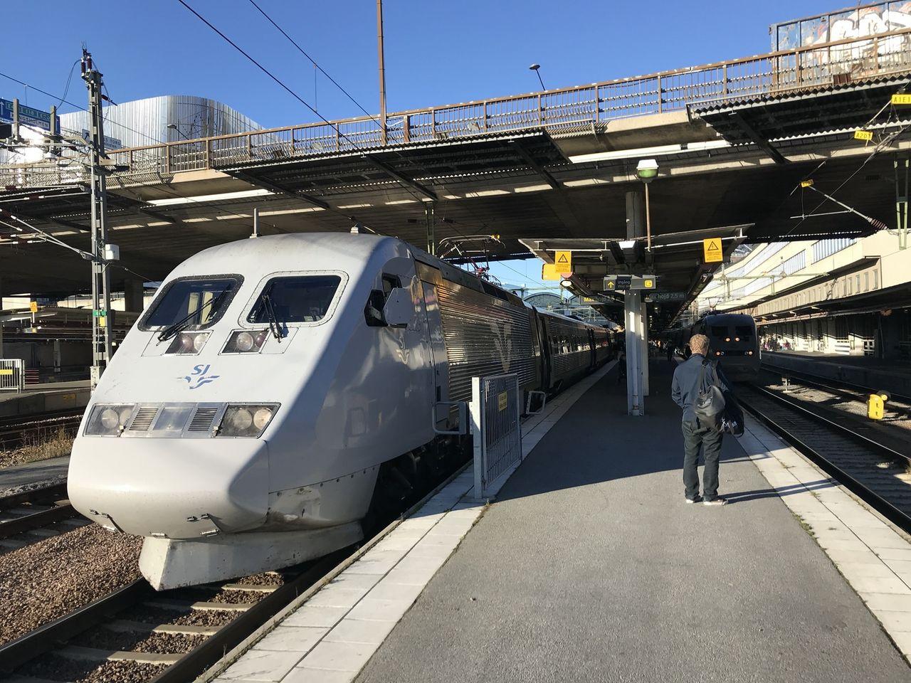 Nu ska Sveriges tåg få bättre mobiluppkopplingar