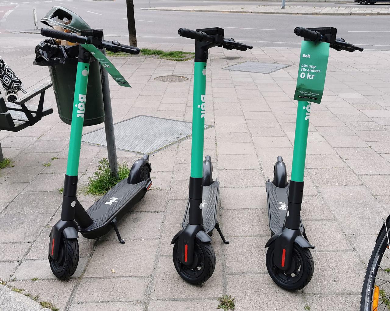 Nu kommer Bolts elsparkcyklar även till Göteborg Det rullar på