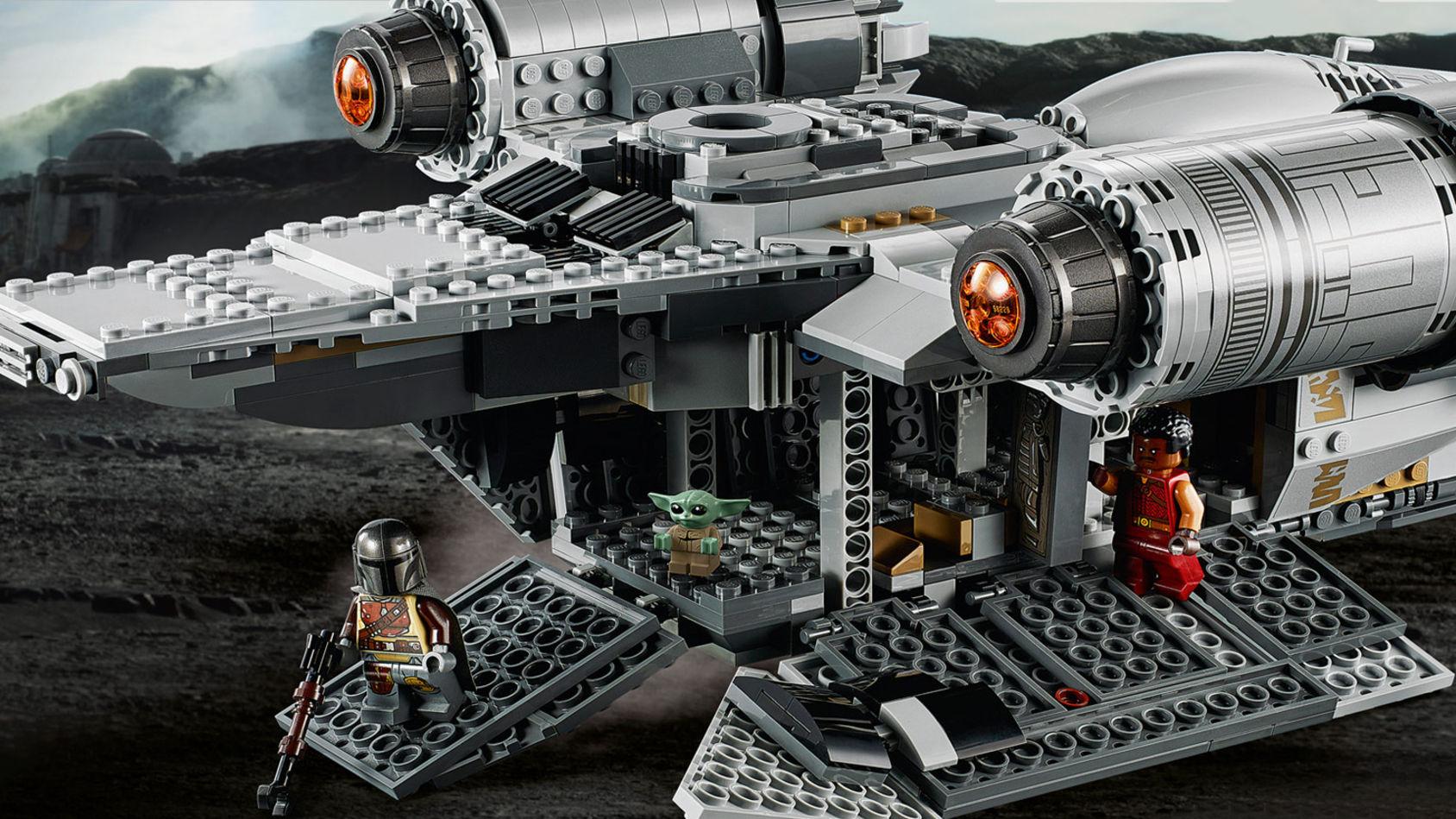 LEGO visar upp nya Star Wars-byggsatser