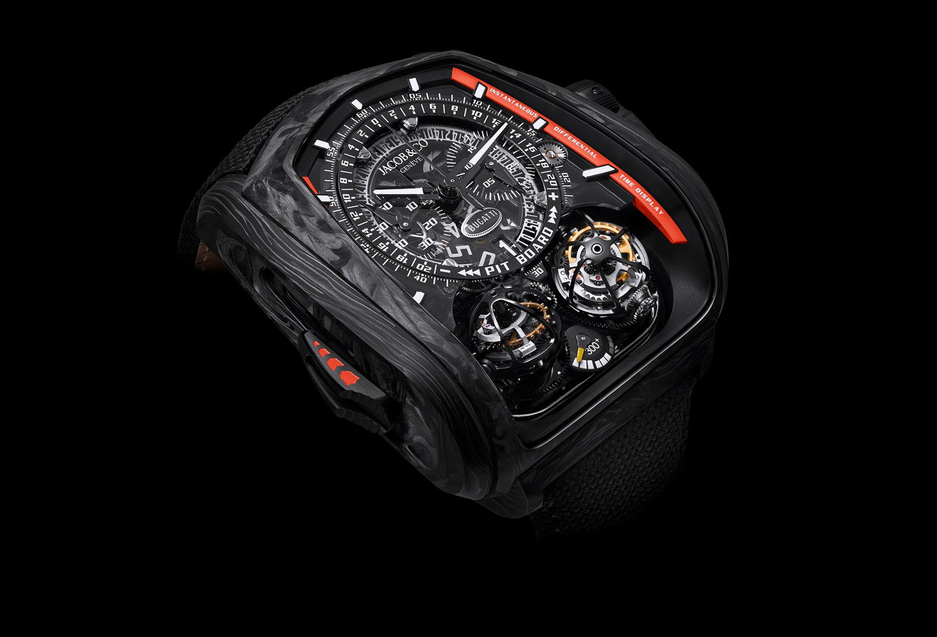 Klocka som hyllar Bugattis rekord