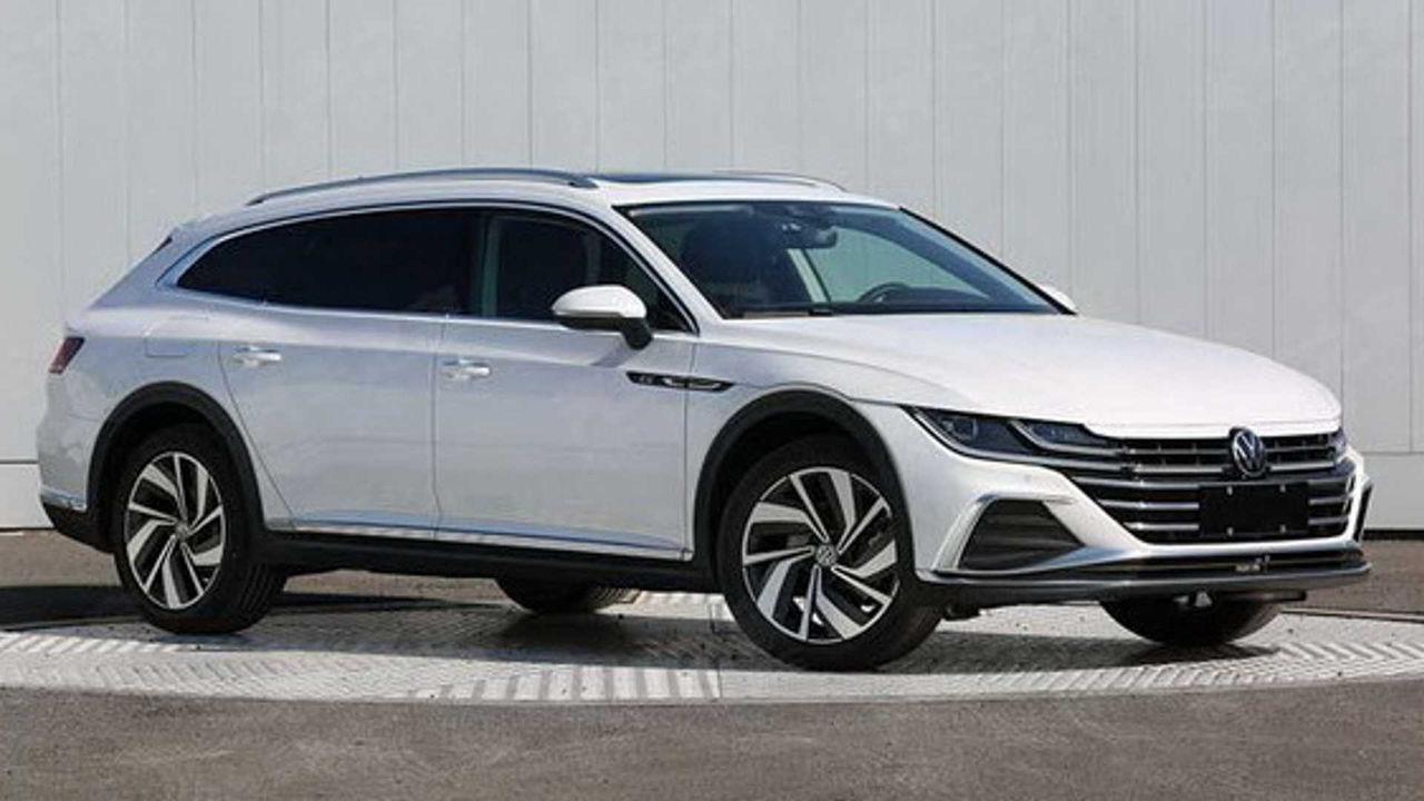 Volkswagen Arteon Shooting Brake läcker ut