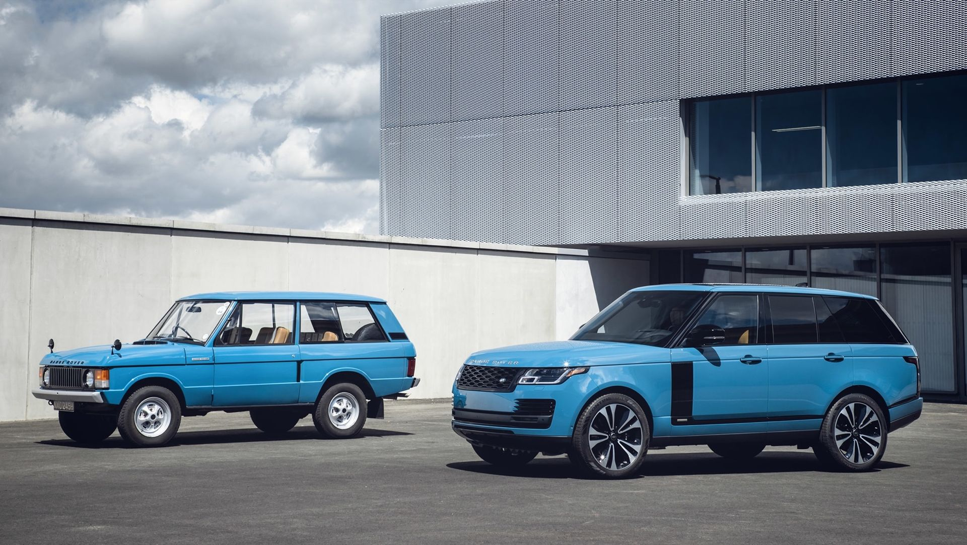 Specialversion av Range Rover hyllar originalet som fyllt 50 år
