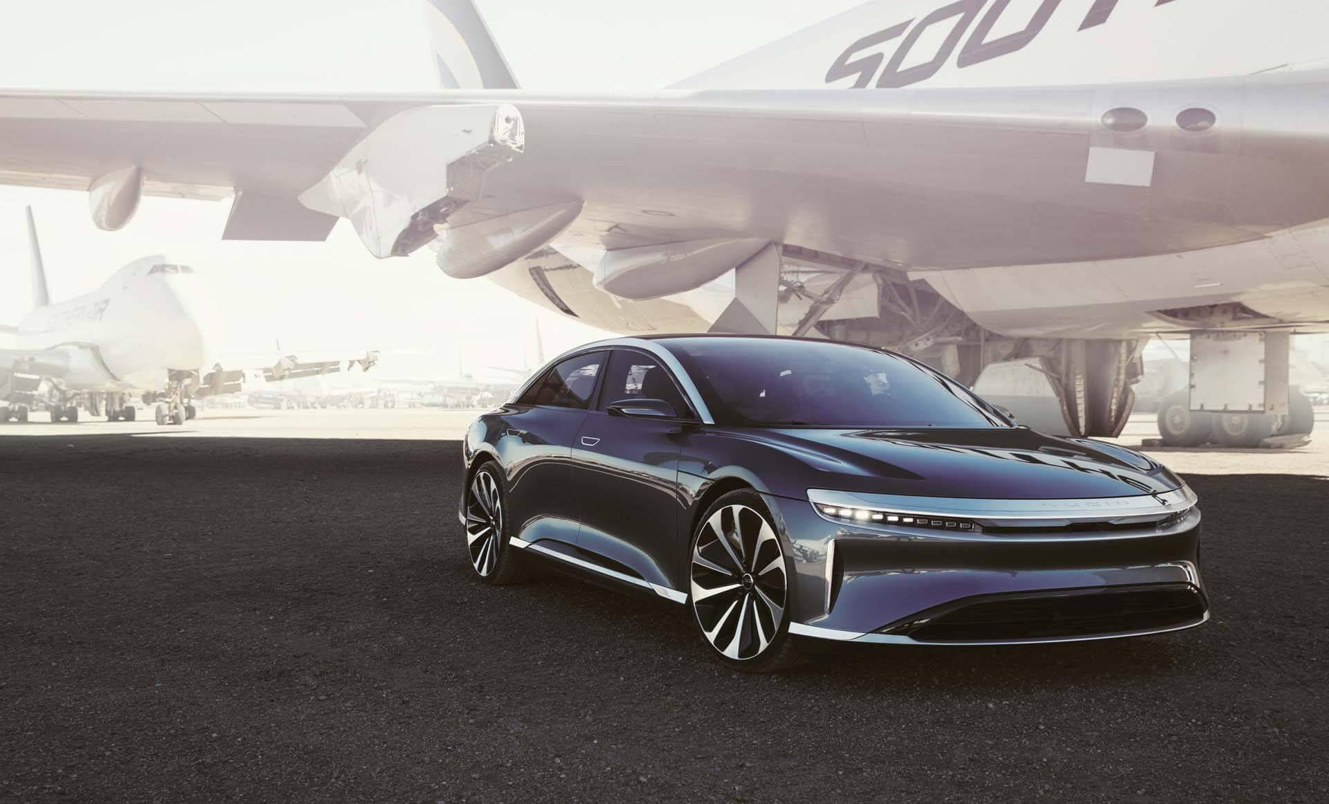 Lucid Motors presenterar elbilen Air den 9 september