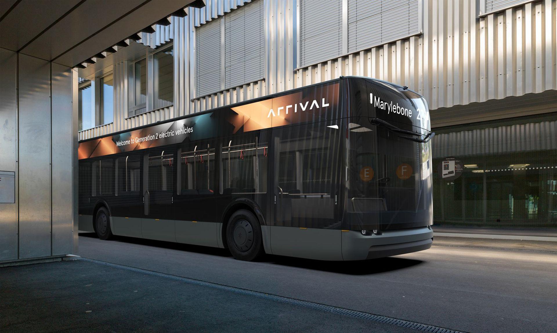 Arrival ska även tillverka eldrivna bussar