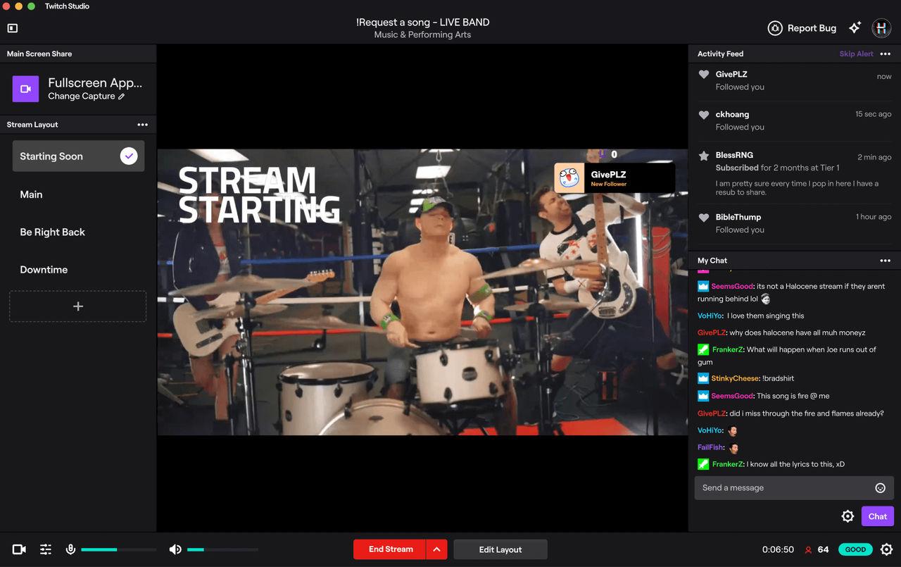 Nu släpps Twitch Studio till macOS