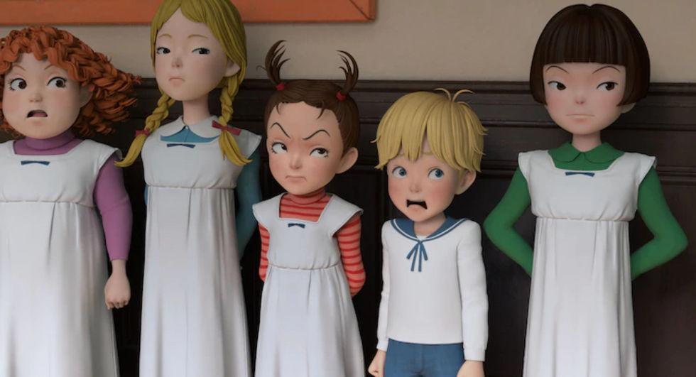 Första titten på Ghibli-filmen Aya to Majo