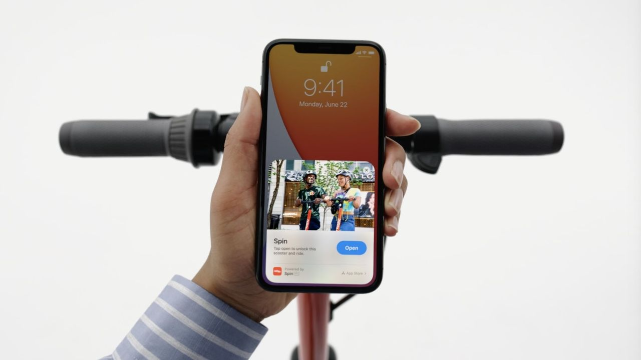 Apple presenterar App Clips