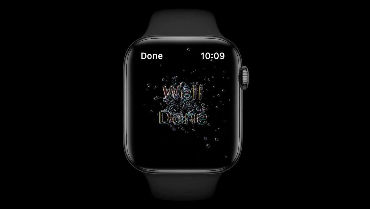 Apple Watch ser till att du tvättar händerna bättre