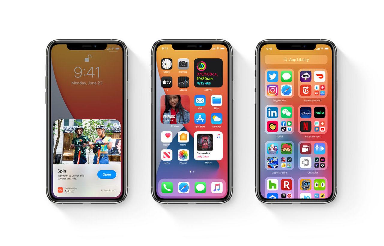 iOS 14 får en ny hemskärm