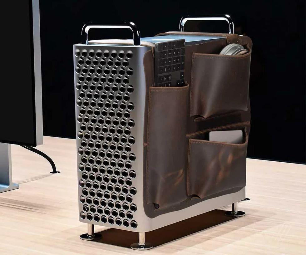 Nu kan man köpa en sadelväska till Mac Pro
