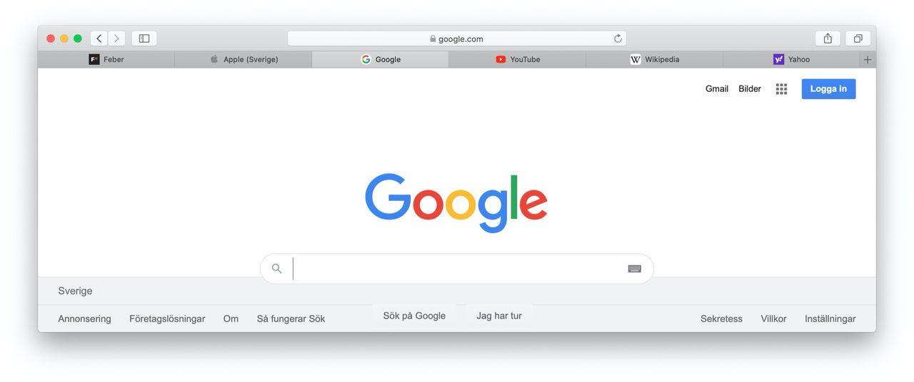 Apples webbläsare Safari blir lite mera användbar