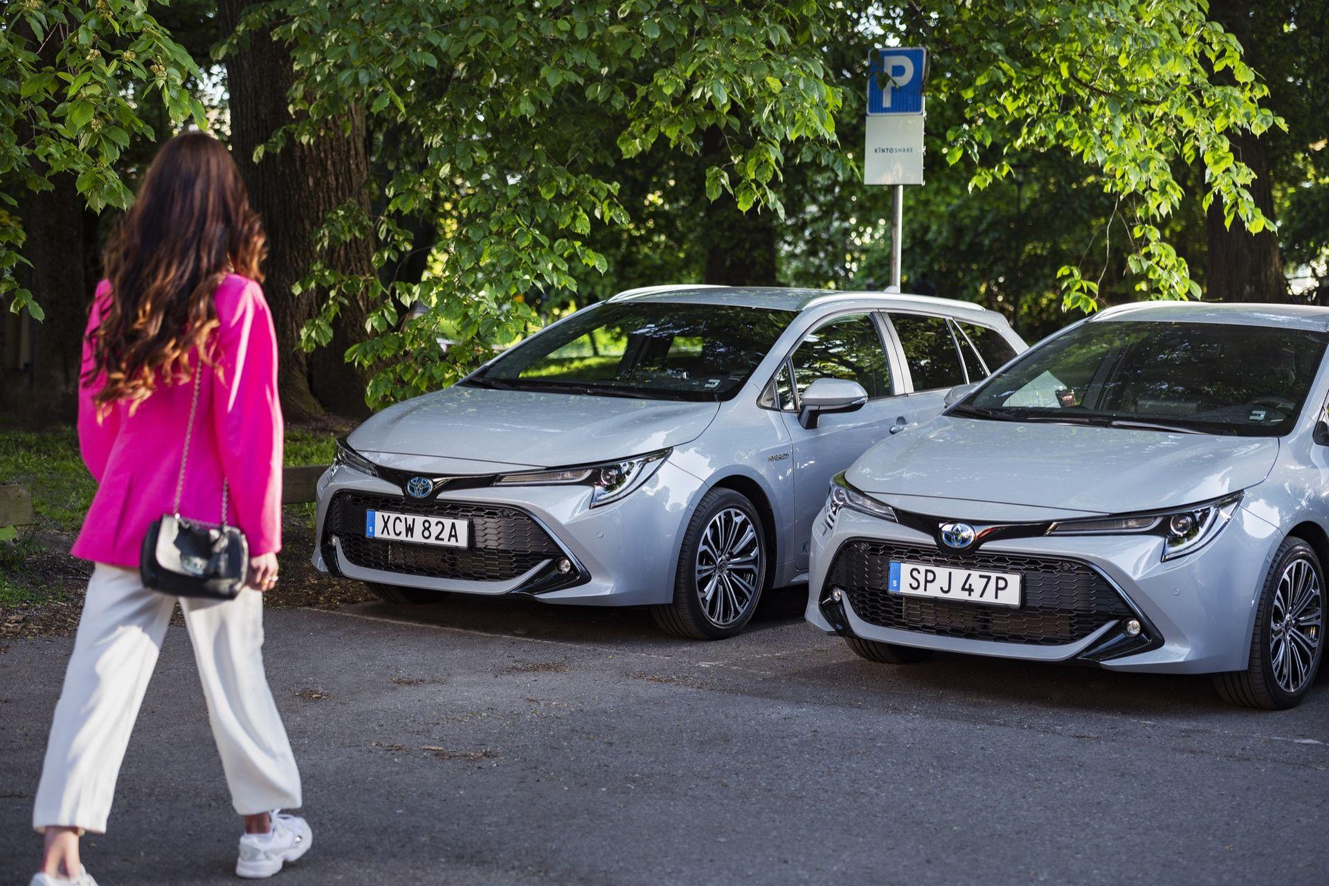 Toyota lanserar bildelningstjänsten Kinto Share i Sverige