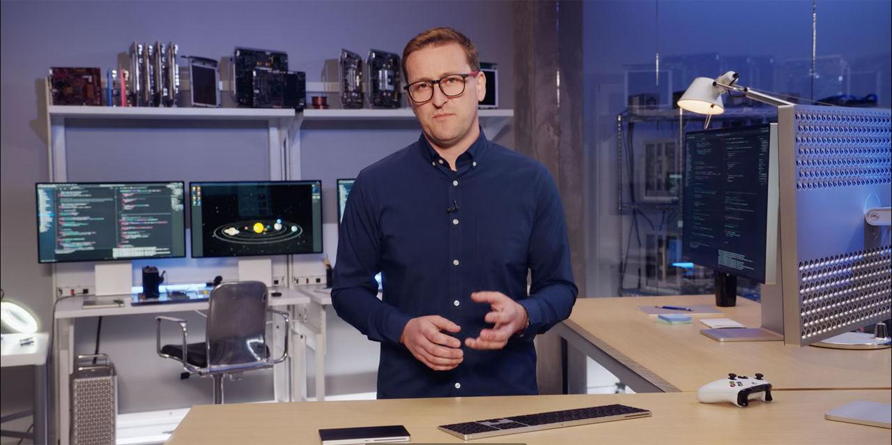 Kolla in Apples nördigare keynote