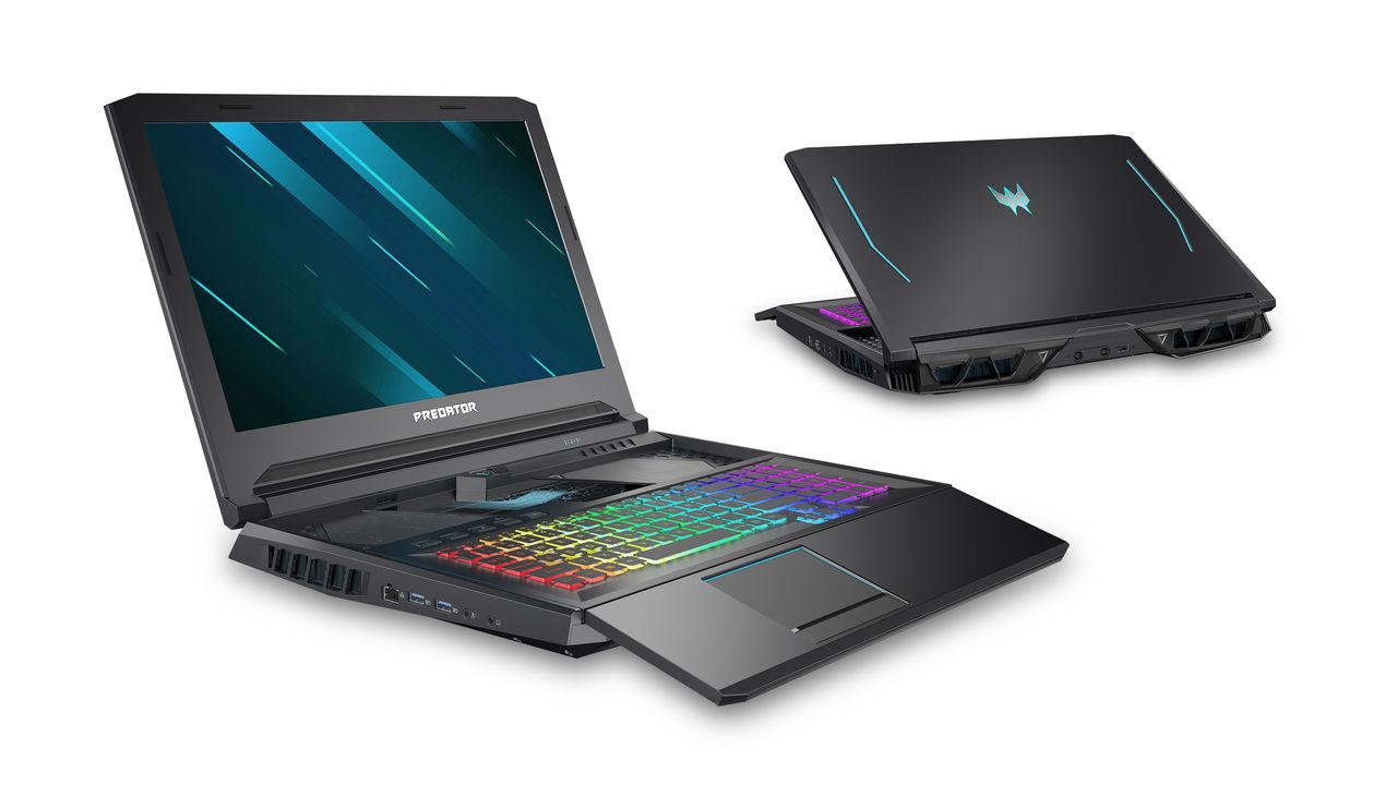 Acer uppdaterar Helios-serien med ny hårdvara