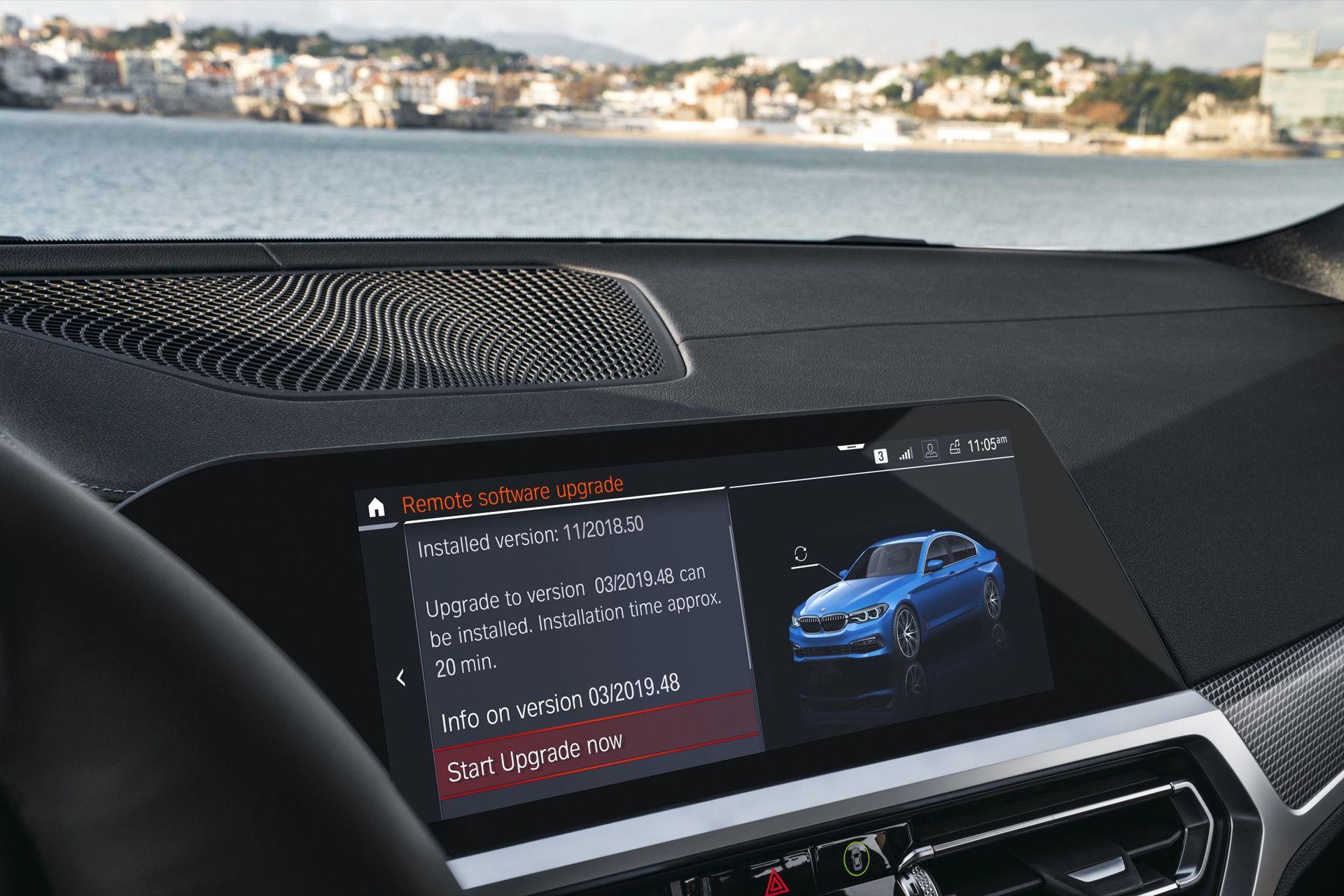 BMW börjar med trådlös uppdatering av programvara