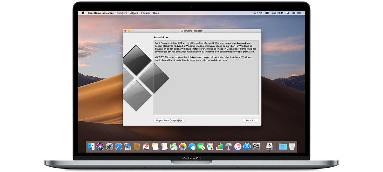 Boot Camp kommer inte att fungera på Apple Silicon