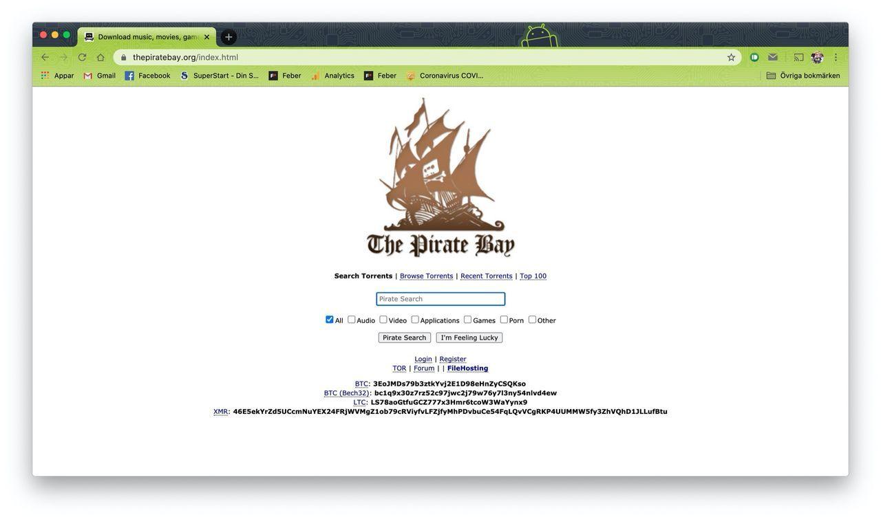 Filmbolag gav sig på fel företag i sin jakt på The Pirate Bay