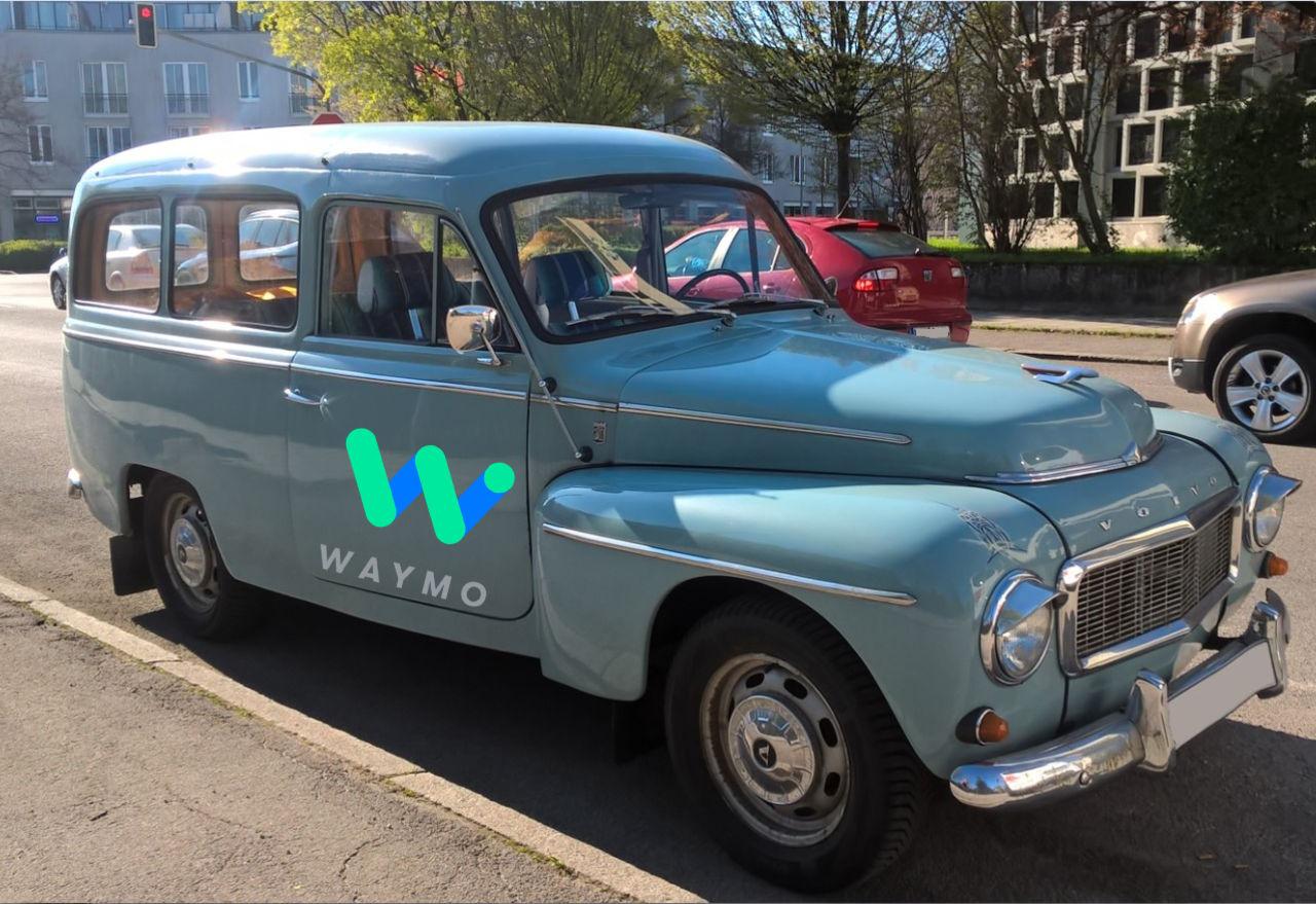 Volvo ska använda Waymo-teknik till sina självkörande bilar
