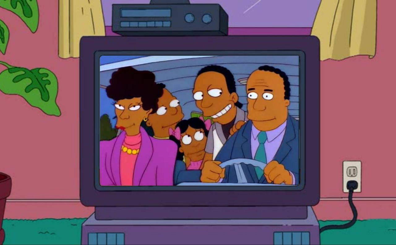 Vita kommer inte längre spela svarta i Simpsons