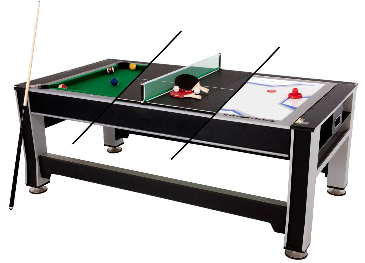 Tre spelbord i ett