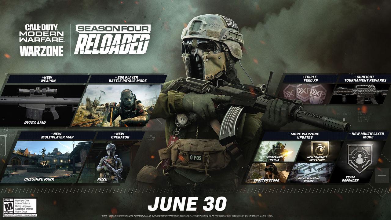 Call of Duty: Warzone får stöd för 200 spelare