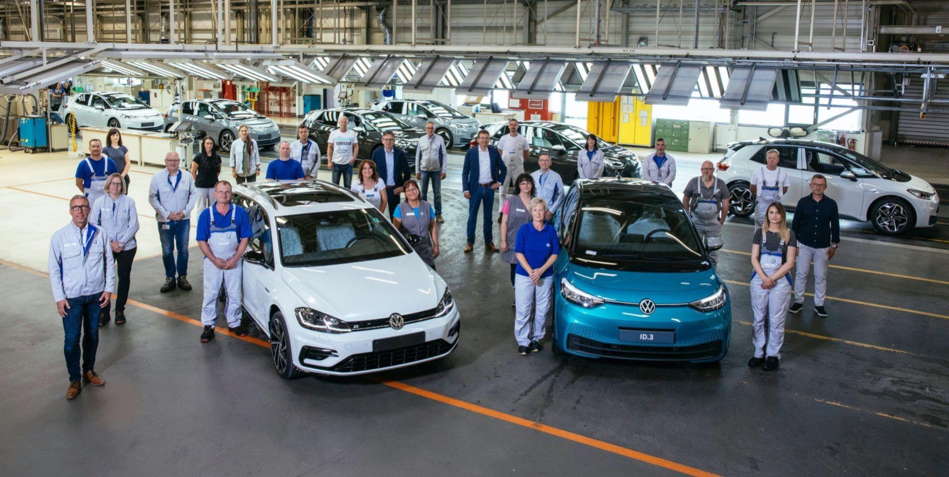Volkswagens fabrik i Zwickau ställs om för elbilsproduktion