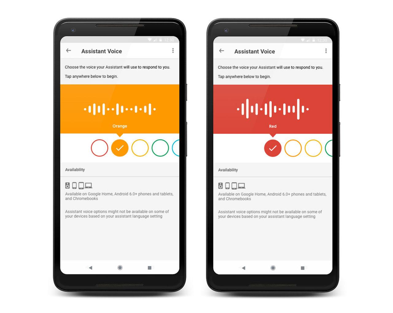 Ny svensk röst till Google-assistenten
