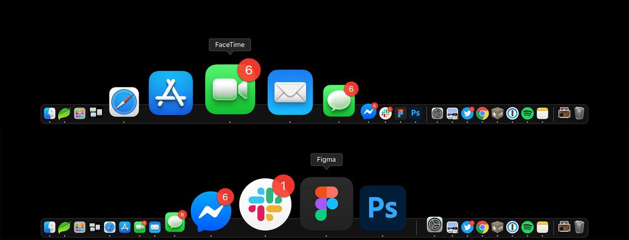 Genomgång av ikonerna i macOS 11
