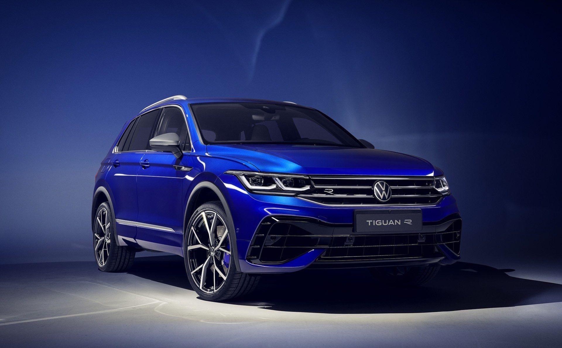 Volkswagen lyfter Tiguan